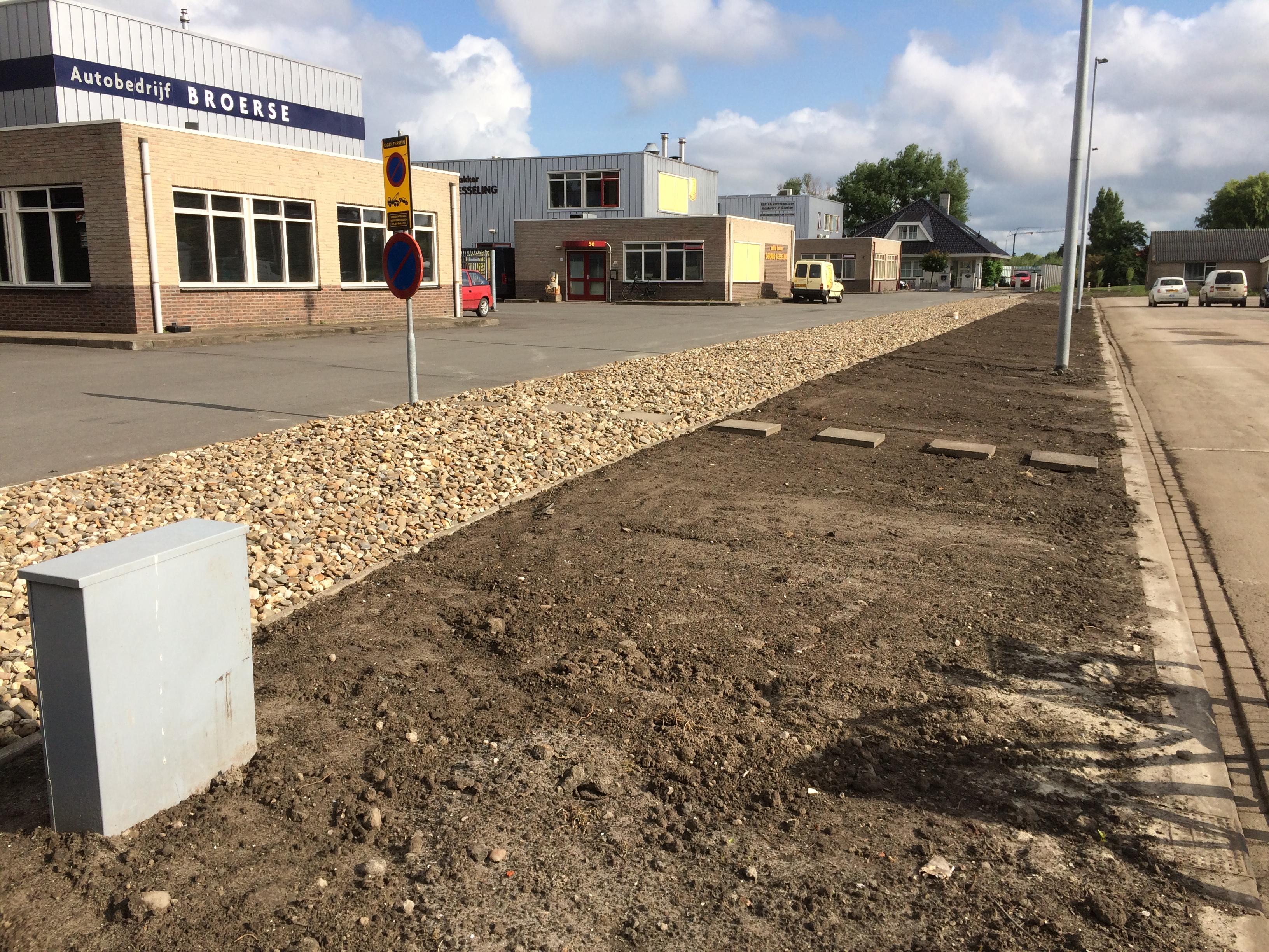 Oplevering vervangen rioolgemaal inclusief riool aan de Wijzend in Grootebroek