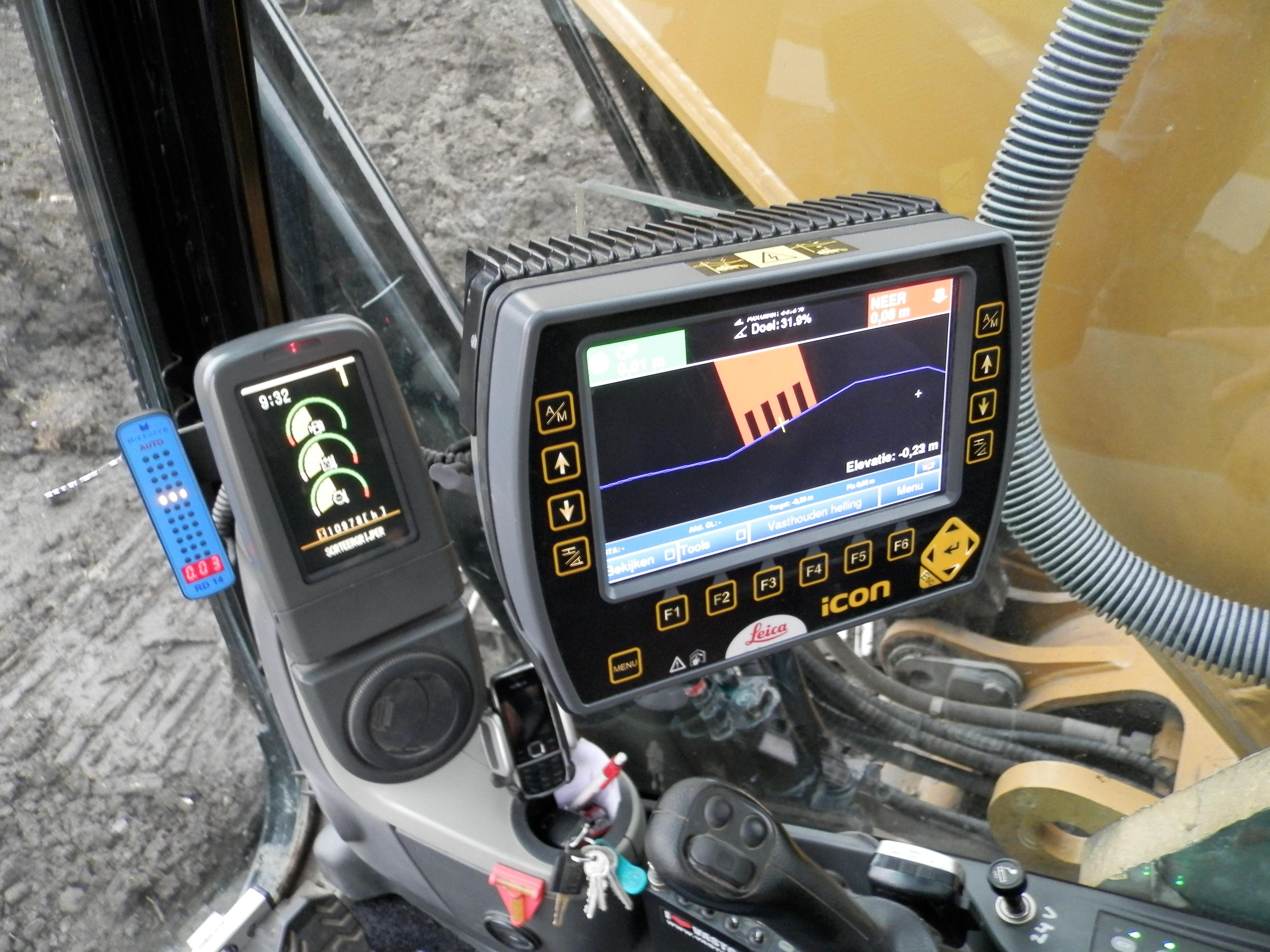 GPS Machinebesturing