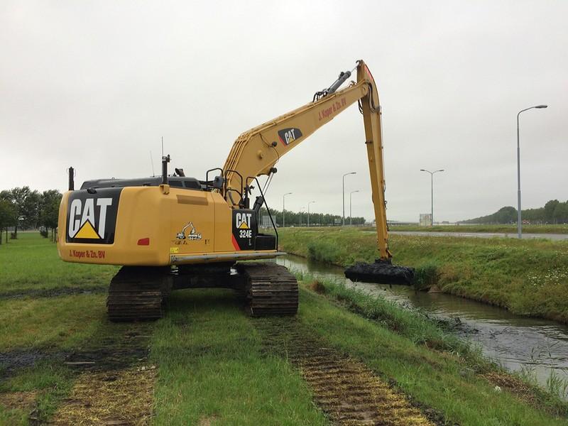 Regulier onderhoudsbaggerwerk Haarlemmermeerpolder-West