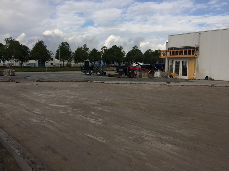 Terreinverharding LVS trucks Zwaag