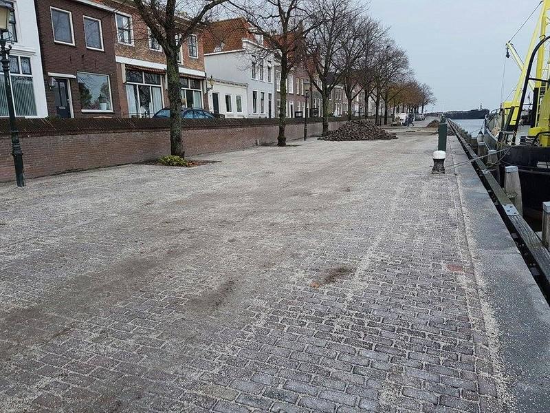 Opknapwerkzaamheden Oosterhaven Medemblik