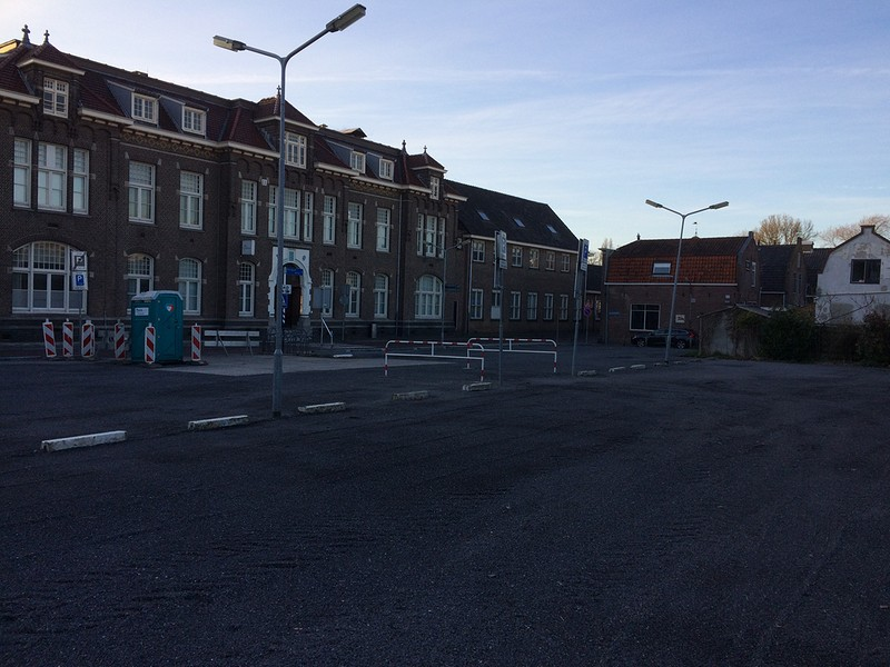 Opknappen parkeerterrein Vijzelstraat