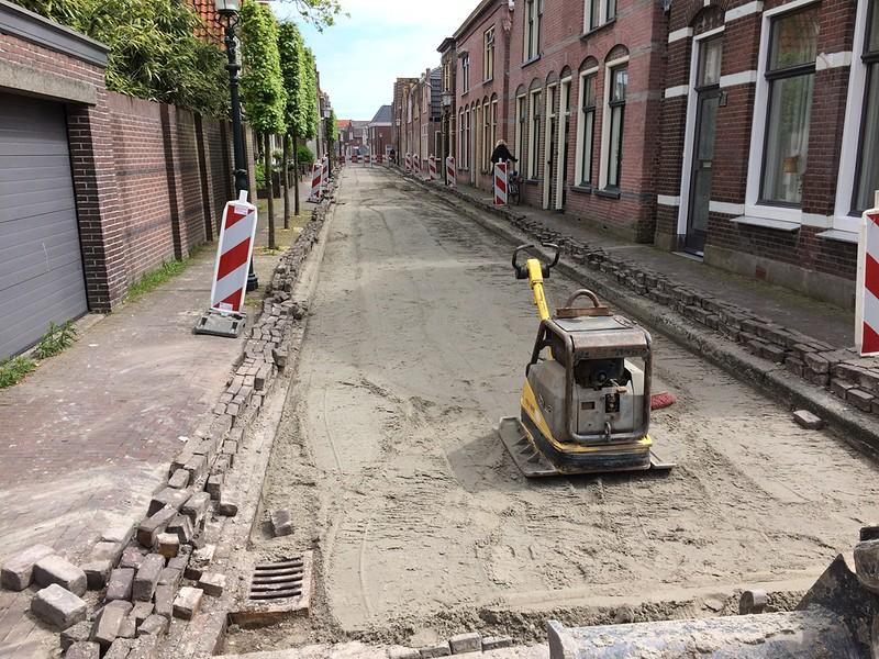 Funderingsverbetering rijwegen binnenstad