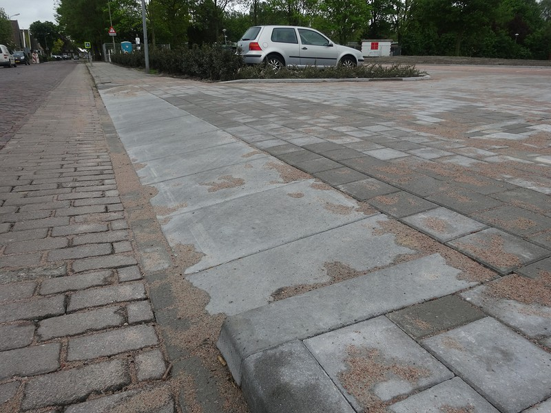 Parkeerterrein Albert Heijn Nibbixwoud