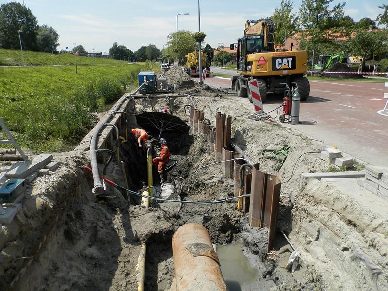 Aanpassingen in persriool Willemsweg te Hoorn