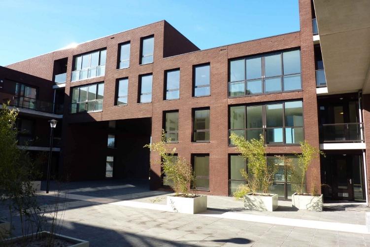 Grondwerk 4 appartementencomplexen Hoorn