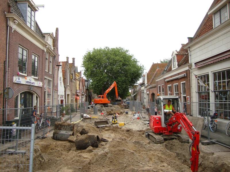 Herinrichting binnenstad Enkhuizen